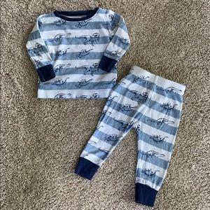 Old Navy Dinosaur Pajamas 12-18 months
